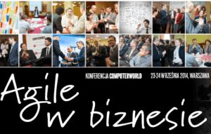 Agile w biznesie 2014 logo konferencji