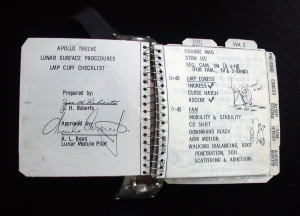 Checklista do misji Apollo 12