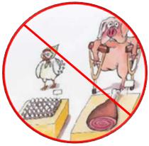Komiks pig & chicken